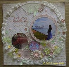 3262グラムの宝物 by:今井洋子(cre8) #スクラップブッキング