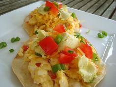 Breakfast Chalupas #egglandsbest #brunch