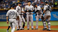 Pinstriped hype gets reality check as Tanaka, young Yanks stumble out of gate