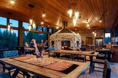 Montana Glamping - Campagna del Nord Bank presso il Resort a Paws Up