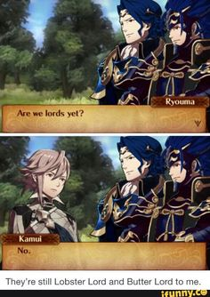 Most lords in Fire Emblem have blue hair and blue armor. This is strange.