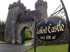 Ashford Castle in County Mayo, Ireland: Spend the night where the Guinness clan relaxed. It's really beautiful here--there are gardens, a forest, and even a falconry school! Ireland Vacation, Ireland Travel, Places To Travel, Places To See, Ashford Castle, Medieval, County Mayo, Castles In Ireland, Our Lady