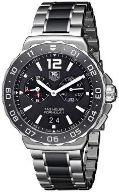 TAG Heuer Men's THWAU111CBA0869 Formula 1 Analog Display Quartz Silver Watch