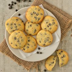 A bit crispy, a bit chewy and packed with chocolate chips! It's time to get baking. New Autumn Recipes, Dark Chocolate Chips, Chocolate Chip Cookies, South African Recipes, Delicious Chocolate, Dessert Recipes, Desserts, Tray Bakes, Yummy Food