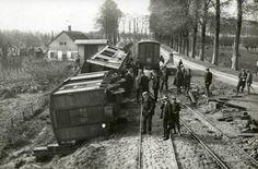 Puttershoek Rustenburgstraat RTM Heavy Construction Equipment, Busses, Rotterdam, Past, Military, Train, History, Diesel, November