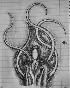 Meus desenhos | Terror: Under The Bed Amino Creepy Drawings, Dark Art Drawings, Pencil Art Drawings, Art Drawings Sketches, Cool Drawings, Horror Drawing, Horror Art, Eyeless Jack, Jeff The Killer