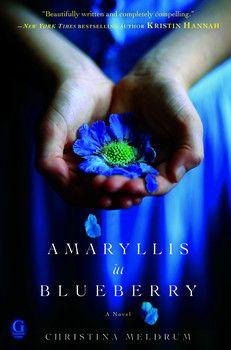 Amaryllis in Blueberry By Christina Meldrum