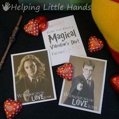 Helping Little Hands: Harry Potter Valentines - Free Printable