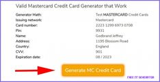 MASTERCARD Credit Card Generator, 10% Free Fake MASTERCARD CC - free cc generator Credit Card Hacks, Credit Cards, Visa Card Numbers, Mastercard Gift Card, Hidden Agenda, Can, Visa Gift Card, Gift Cards, Gift Card Generator