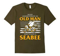 Navy Seabee Veteran T-Shirt