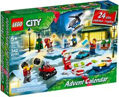 Best Christmas Toys, Christmas Tree And Santa, Christmas Scenes, Lego City Advent Calendar, Lego Kits, Lego Builder, Advent Calenders, Toy House, Cool Gifts For Kids