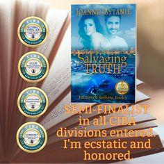 Salvaging Truth - Semi-Finalist International Books, Hunters, Book 1, Fiction, Romance, Author, News, Romantic Things, Fiction Writing