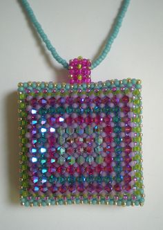 Disco Squares Pendant | Flickr - Photo Sharing!