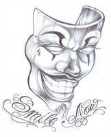 Flash tattoo by on DeviantArt Badass Drawings, Chicano Drawings, Demon Drawings, Easy Drawings Sketches, Dark Art Drawings, Chicano Art, Pencil Art Drawings, Random Drawings, Arte Cholo