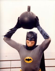 Adam West as Batman in the 1960's TV series
