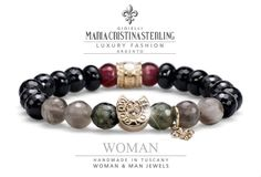 bracelet luckuoy silver luxury man made in Italy  designed Alessandro Magrino fashion jewelry   http://shop.mariacristinasterling.it
