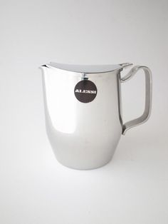 "Alessi ""Avio"" Coffee Pot | FEM TRE NOLL Alessi, I Shop, Pots, Coffee, Kaffee, Cup Of Coffee, Cookware, Jars, Flower Planters"