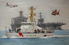"""USCGC """"DORADO"""" (WPB 87306) is a (87') Marine Protector Class Patrol Boat - Commissioned: April 1999 - Crew: 10 Officers, Enlisted - Home Port, Crescent City, California - Armament: 2 × .50 cal M2 Browning Machine Guns and Various Small Arms - Still in Active Service, as of 2016"""