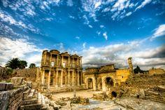 "Celcius Library Ruins (Ephesus) | near Selçuk, Izmir Province, Turkey • ""Celcius Library"" by Nejdet Duzen on http://500px.com/photo/13818763?from=popular"
