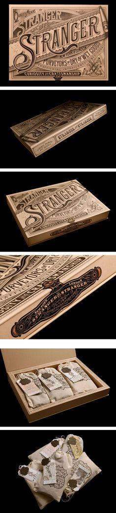 Stranger Xmas by Stranger  Stranger (i like the word art on this box)