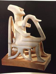 Harp Player, Amorgos, Cycladic, 2500 BC