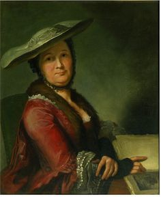 Portrait of Madame Roubiliac, Francois Xavier Vispre, oil on canvas, c. 18th Century Fashion, 18th Century Clothing, Francois Xavier, Oil Canvas, Art Uk, Victoria And Albert Museum, Madame, A4 Poster, Photo Wall Art