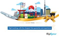 TripTyme is India's leading player for flight bookings with the cheapest fare guarantee and experience the great value at the lowest price Luxury Travel, Us Travel, Travel Tips, International Flight Booking, Cheap Fares, Travel Flights, Cheap Flight Tickets, Best Travel Deals, Flight And Hotel