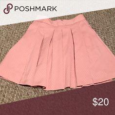Skirt Light pink skirt. Worn. No tags. Kohls Skirts Mini