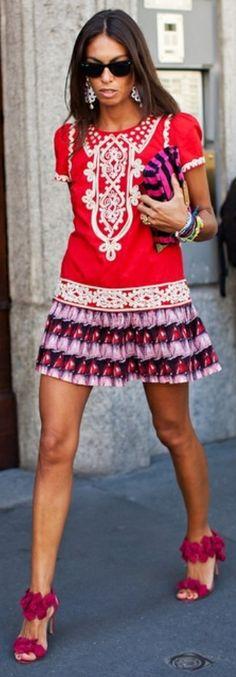 Viviana Volpicella, Street Style