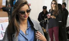Back down to earth! Miranda Kerr and Alessandra Ambrosio relax after stunning stints in Victoria's Secret Fashion Show