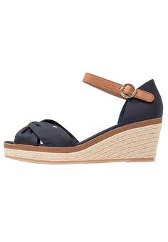 40280b8e8880 Platform sandals - dark blue   Zalando.co.uk 🛒. Sandales Nu PiedsPied Femme PlateformeChaussureTommy HilfigerChaussures ...