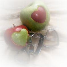 Las manzanas son buenas para... el  corazón