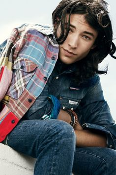 Ezra Miller -- Character inspiration #writing #novel #nanowrimo