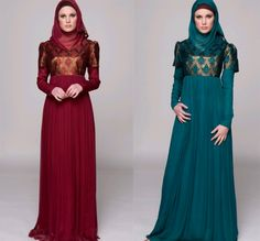 Absolutely lovely...  Who said that hijabi clothes were a prison?