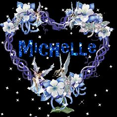 The Name Michelle In Glitter