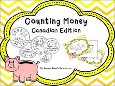 There are six games included in this pack.Game 1: Counting dimesGame 2: Counting nickelsGame 3: Counting quartersGame 4: Counting looniesGame 5: Counting tooniesGame 6: Counting a mixture of coins ( Money Scoot) The first 5 games can be used at a center or during Math Daily 3. Teaching Resources, Teaching Ideas, Counting Money, Daily 3, Game 1, Coins, Math, Products, Coining