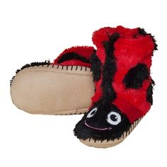 7c7cb7f0a00 Animal faced slouch slippers with microsuede sole. Shop Ron Robinson for  Hatley slippers today!