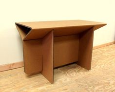 Cardboard furniture by Chairigami