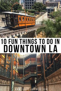 Heading to Los Angeles, California and want to know the best things to do in downtown LA? DTLA has incredible architecture, art, history, delicious food and epic places to see the city skyline. Find out the coolest places to visit in downtown LA so you don't miss out! #DTLA #LosAngeles #californiatravel #californiatrip Weekend Trips, Weekend Getaways, Bradbury Building, Olvera Street, The Last Bookstore, Los Angeles Travel, Downtown Los Angeles, Los Angeles California, Train Rides