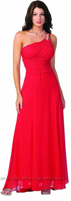to ] Great to own a Ray-Ban sunglasses as summer gift.One Shoulder Greek Style Red Evening Dress Long Gown Gala Dresses, Dance Dresses, Dress Outfits, Dress Up, Dress Long, Trendy Dresses, Elegant Dresses, Formal Dresses, Formal Prom