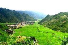 beautiful landscape in mai chow