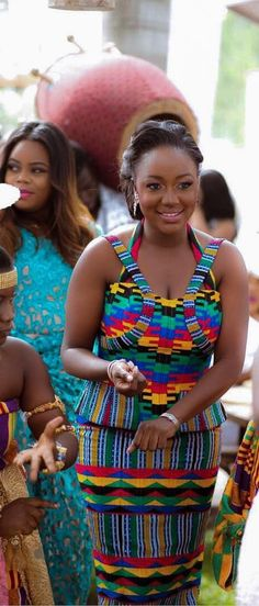 Ghana kente wedding dress, African fashion, Ankara, kitenge, African women dresses, African prints, African men's fashion, Nigerian style, Ghanaian fashion, ntoma, kente styles, African fashion dresses, aso ebi styles, gele, duku, khanga, vêtements africains pour les femmes, krobo beads, xhosa fashion, agbada, west african kaftan, African wear, fashion dresses, asoebi style, african wear for men, mtindo, robes de mode africaine.
