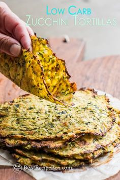 Zucchini Tortillas Recipe for healthy low carb tacos healthy mexican food tacos. Healthy tortilla recipe made with grated zucchini. Zucchini Tortilla, Parmesan Zucchini Fries, Healthy Tortilla, Healthy Mexican Recipes, Keto Recipes, Vegetarian Recipes, Cooking Recipes, Zucchini Lasagna, Veggie Recipes