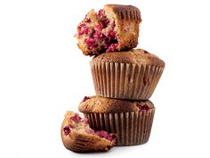 Gluten-Free Raspberry-Ginger Muffins - A bit heavy on the sugar, reduce it to 1/2-2/3 cup to start