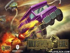 IndestructoTank  Android Game - playslack.com , IndestructoTank - become a chauffeur of an undestroyable tank, in this non-stative passageway, and end all foes. Use the armament of foes and to demolish them   disobey competitors missiles, rise up in the air and influence down battling  helicopters. For the attained  scores it is accomplishable to purchase fuel or brand-new foes. You are waited for by 40 errands, 4 different tracts, 4 means of game, 5 kinds of foes, 48 evidence actions, 9…