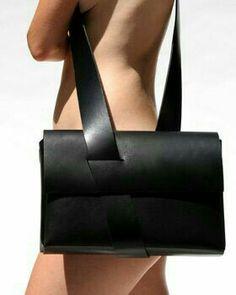 N/A leather bag