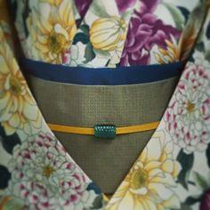 大塚呉服店神戸さんはInstagramを利用しています:「「先走ってしまいました。秋が待ち遠しいコーデ。」 #大塚呉服店 #otsukagofukuten #神戸店 #kobe #浴衣 #yukata #着物 #kimono #秋 #autumn #シック #color #大人っぽい」