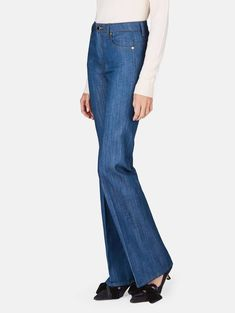 e7d737be842 New Khaite Catherine High Waist Trouser Denim Raw Jeans 26 Japanese Cotton