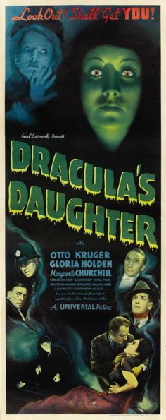The creepy Dracula's Daughter (1936)