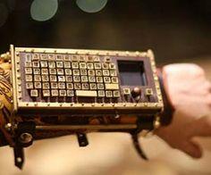 Wireless Steapmunk Wrist Keyboard $1,200.00